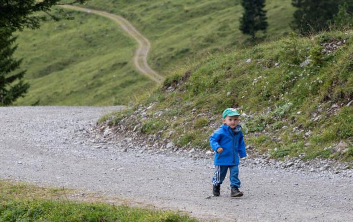 Rakousko Brand Natursprung weg