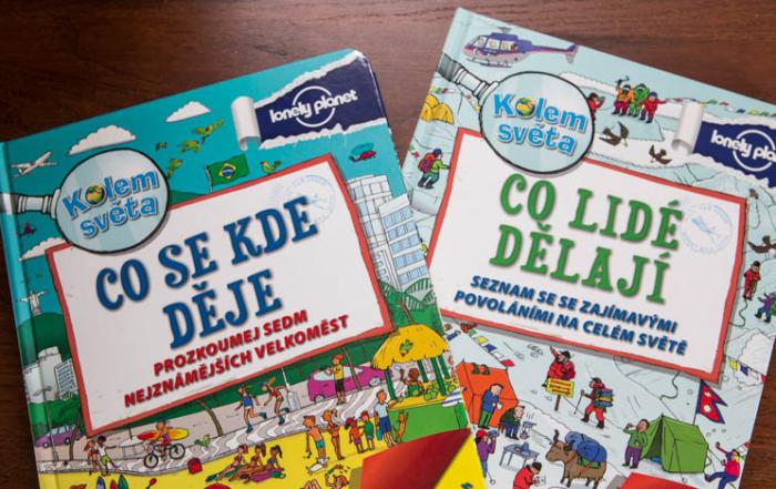 Knihy pro děti od Lonely Planet.
