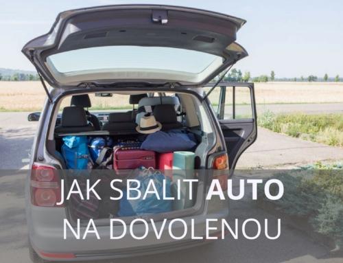 Jak připravit auto na dovolenou