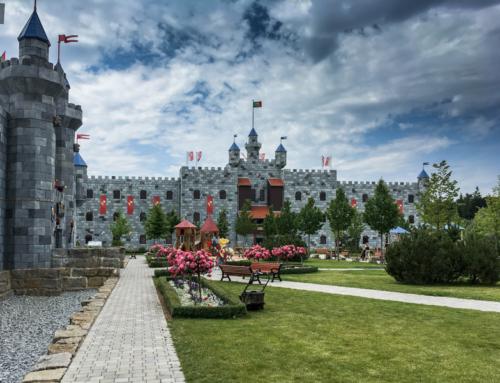 Jak se bydlí v Královském hradě v LEGOLANDU Deutschland