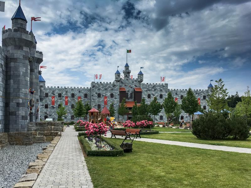 Královská hrad - hotel v legolandu