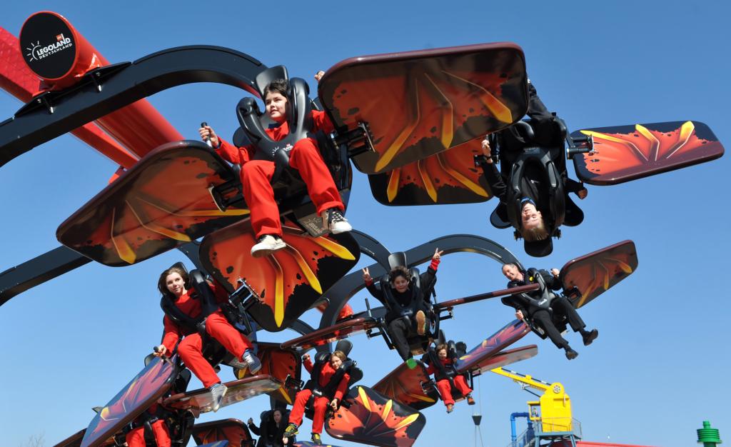Flying ninja v legolandu.