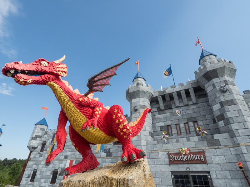 Dračí hrad v LEGOLANDU