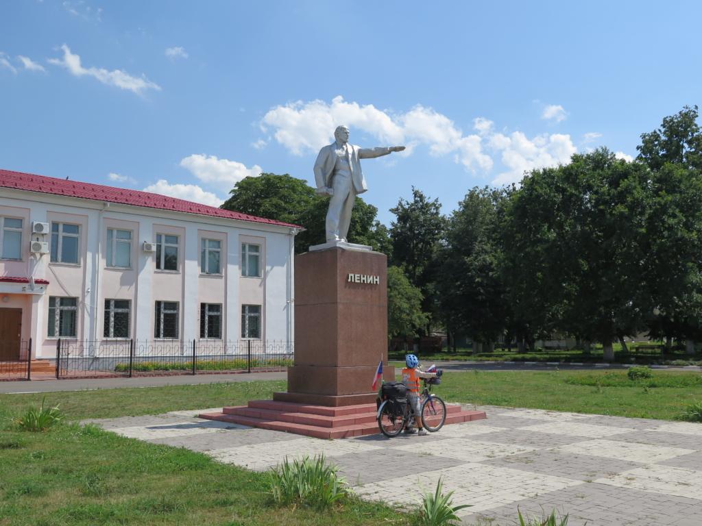 Lenin a mylý cyklista