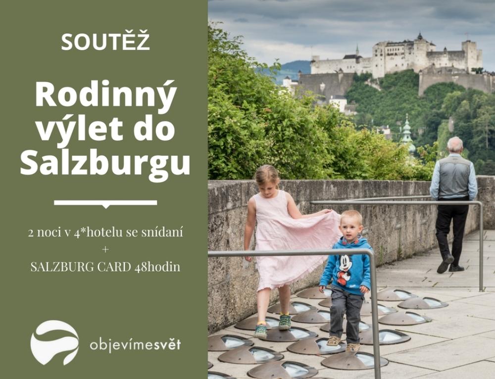 Už víme komu pod stromečkem přistál rodinný výlet do Salzburgu!