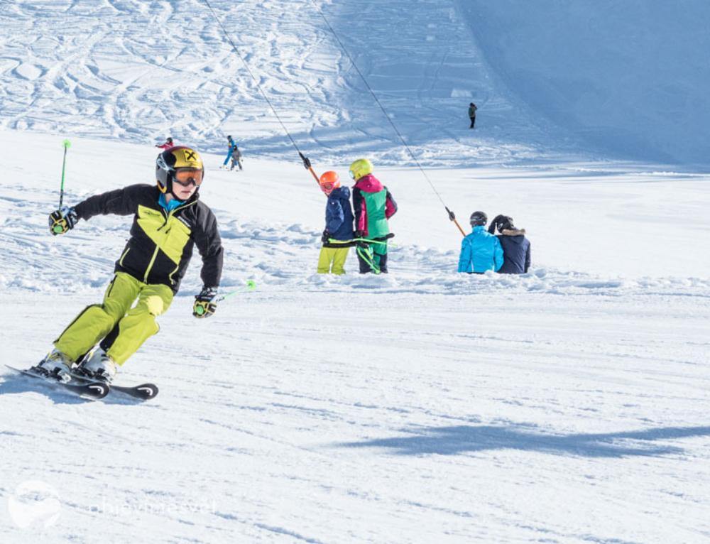 Schetteregg je pro lyžování v Rakousku s dětmi jako stvořený