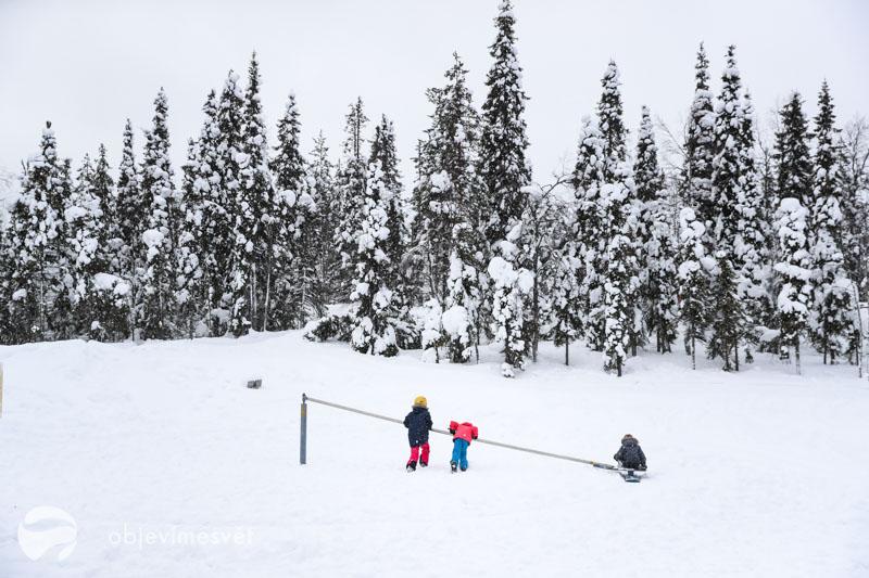 Kolotoč se snowboardem