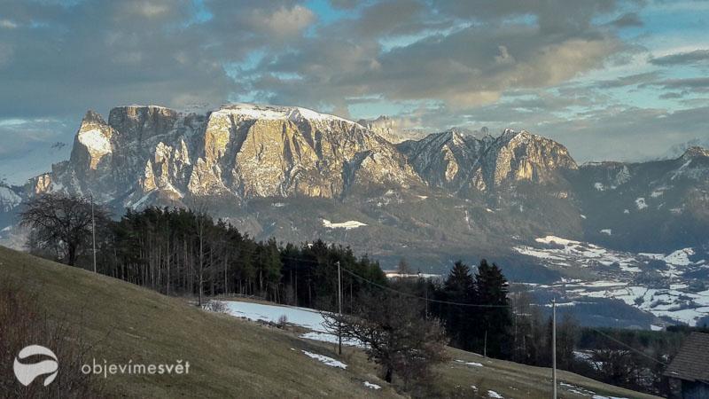 Schlern - masiv, Jižní Tyrolsko