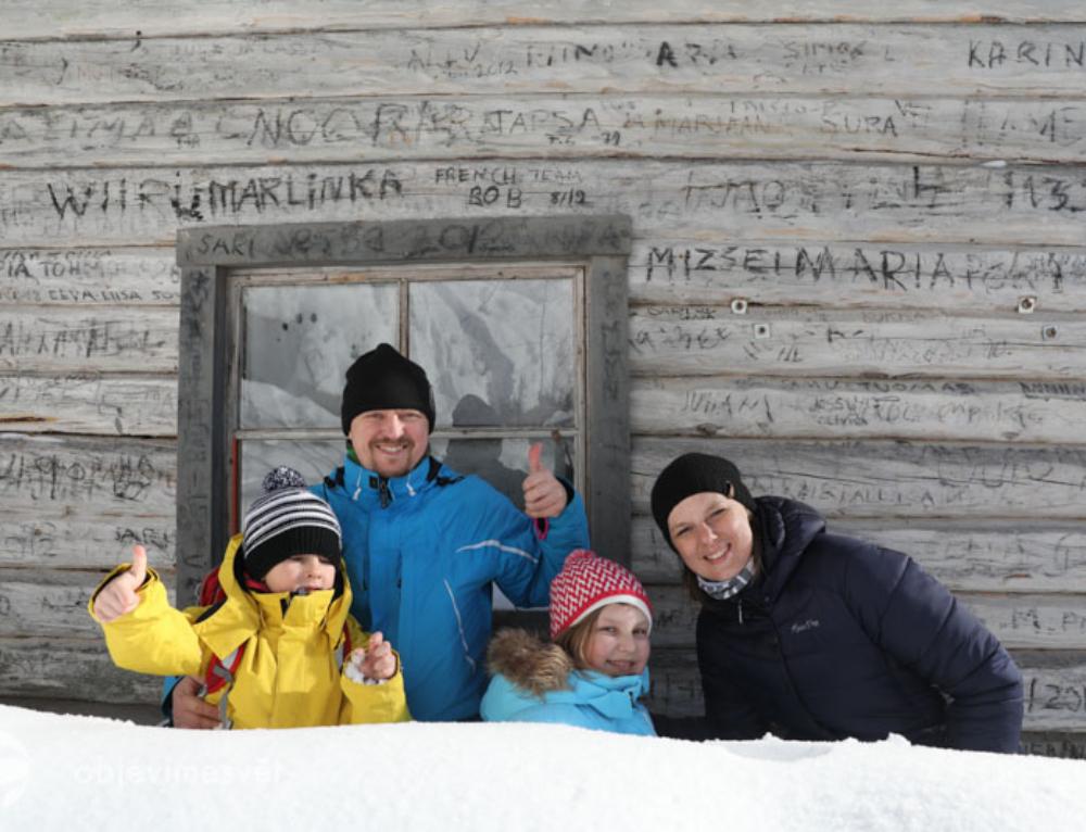 Finsko – naše velké zimní dobrodružství