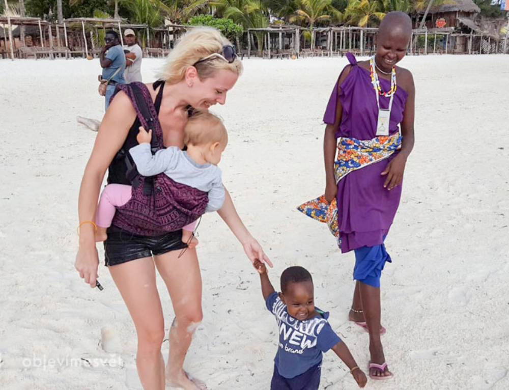 Na Zanzibar s ročním prckem? Jasně!