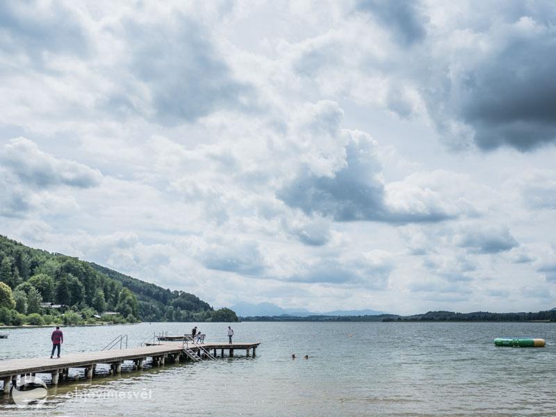 Wallersee jezero Rakousko