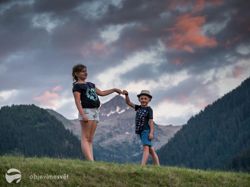 Děti ve Val di Fiemme