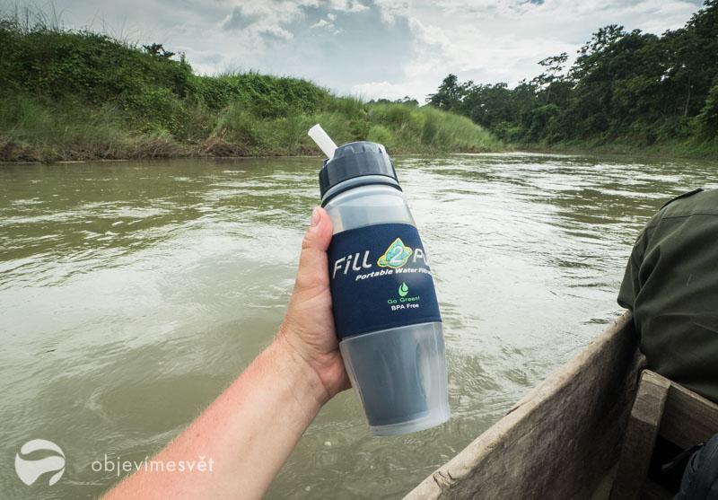 Filtrační lahev na vodu