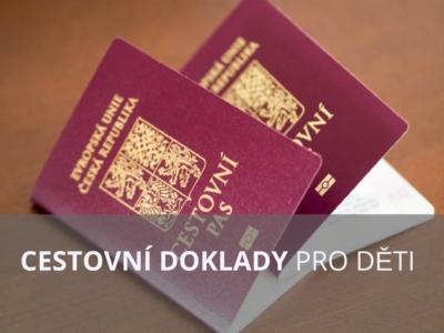 Jak vyřídit dětem pas