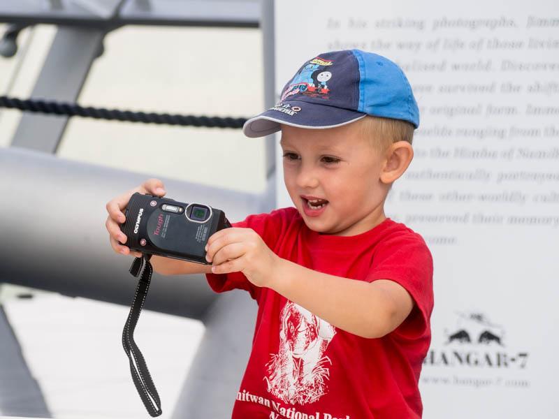 Dejte dětem foťák