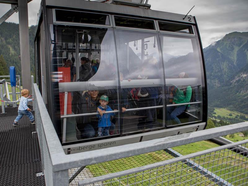 Lanovka Natursprung weg Brrand