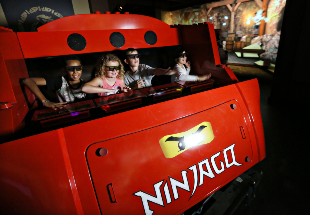 Ninjago 4D jízda v legolandu