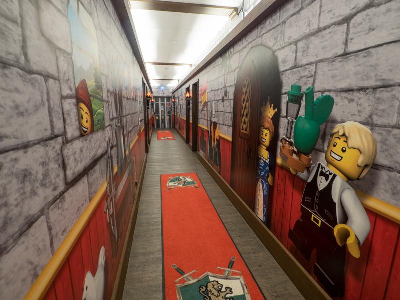 Legoland hotel Královský hrad