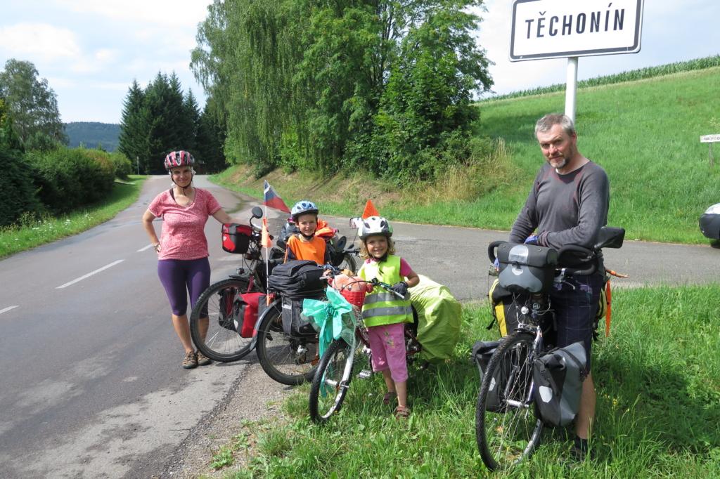 Cyklistická rodina