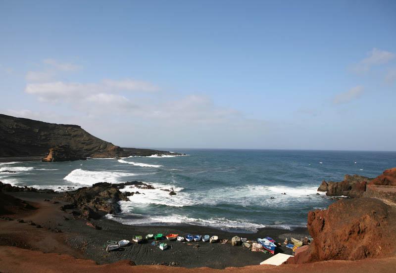 Lanzarote - pláž