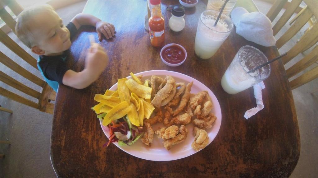 Jídelna v Nikaragui