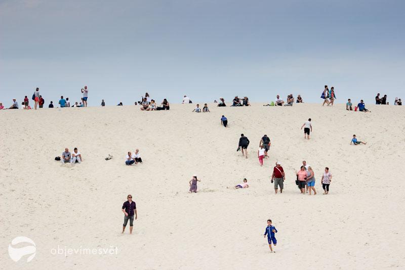 Pláž u Baltského moře