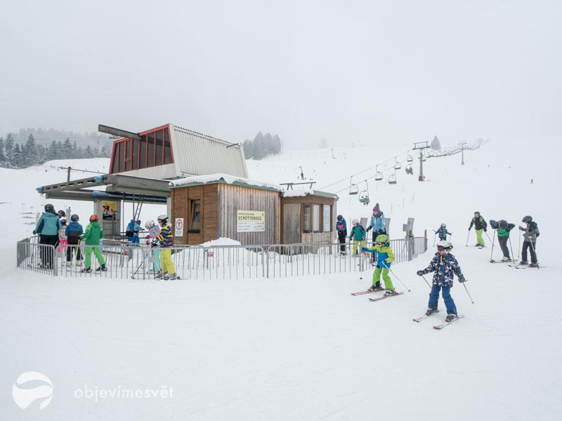 Ski areál Schetteregg.