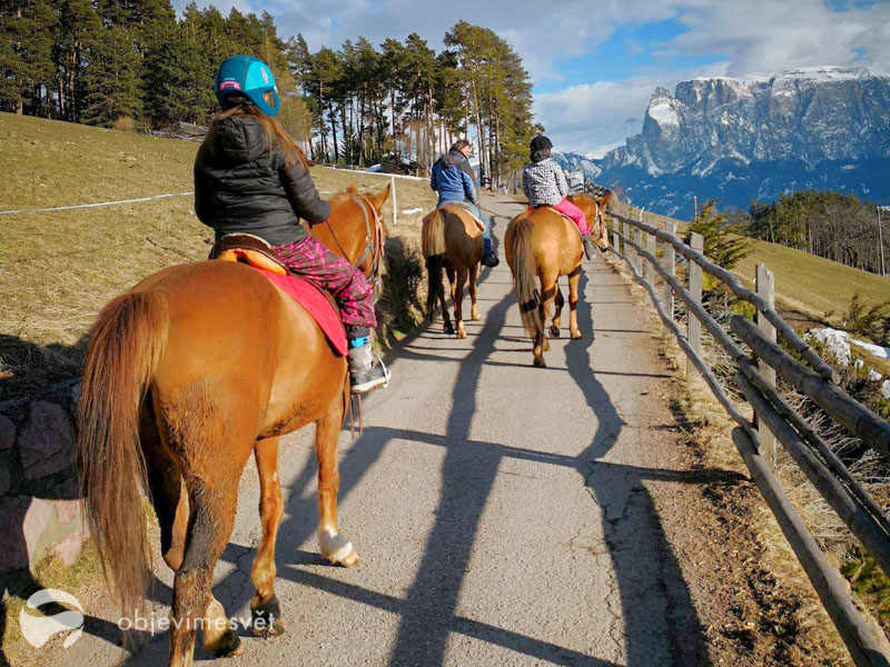 Vyjíždka na koních