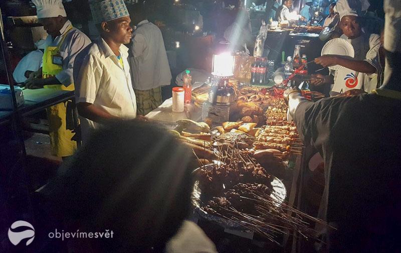 Trh na Zanzibaru