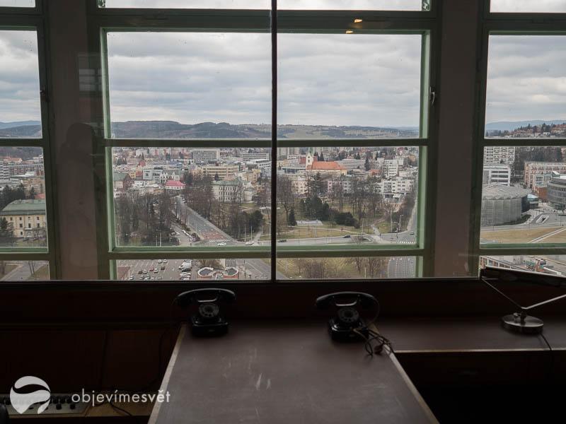 Kancelář ve výtahu ve Zlíně