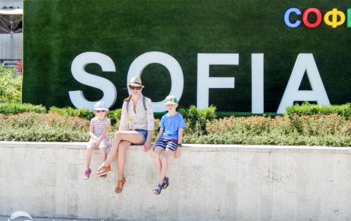 Sofie s dětmi