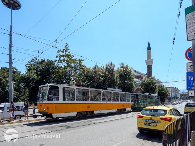 Bulharská tramvaj