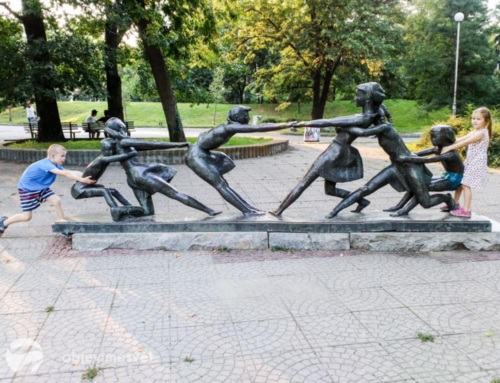 Co dělat 6 dní s dětmi v Sofii