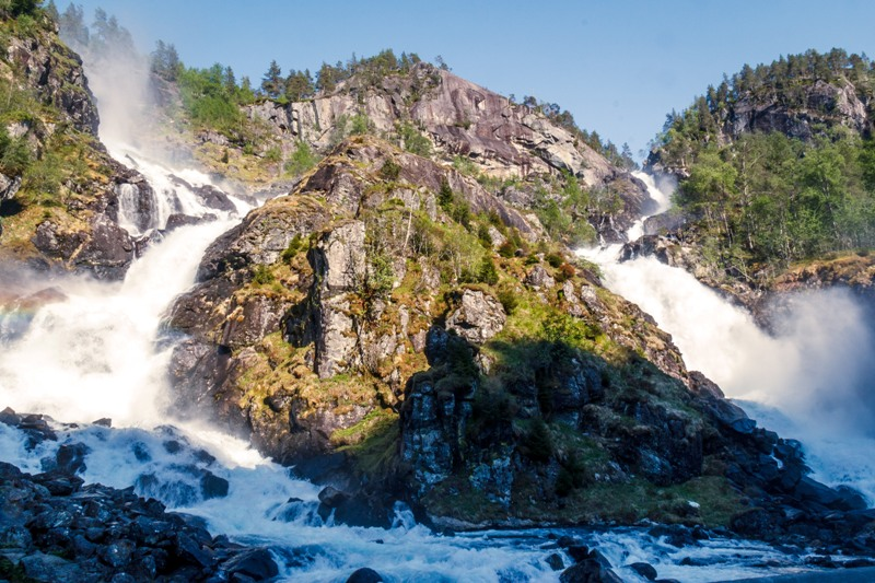 Norsko je plné nádherných vodopádů