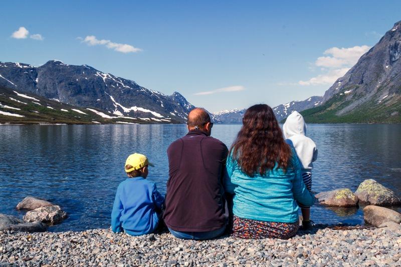 Norsko jde procestovat i s dětmi