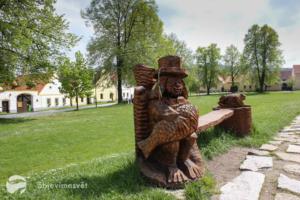 Památky UNESCO s dětmi - město Holašovice