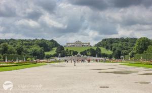 Zámek Schönbrunn, pámátka UNESCO s dětmi
