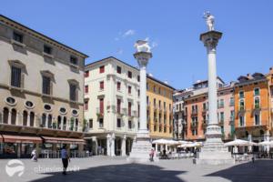 Památky UNESCO s dětmi - město Vicenza
