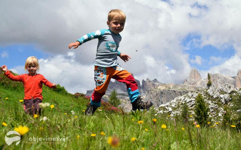 !PODCAST! Děvče z hor: Túru s dětmi v horách nepřepalte!