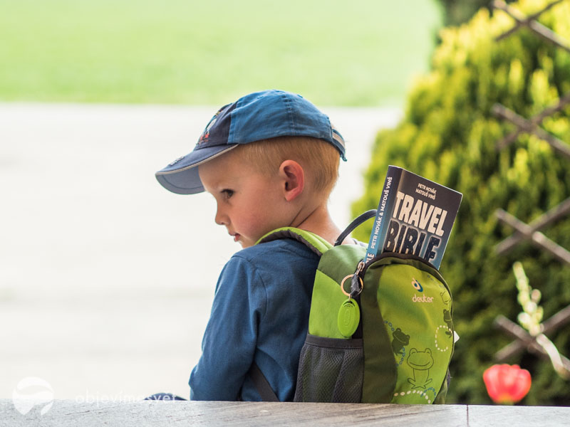 Travel Bible jako dárek pro děti