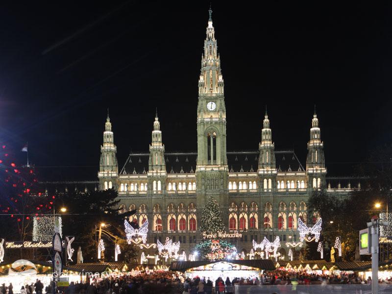 Vídeň na Vánoce s dětmi