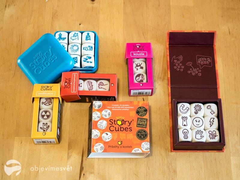 Hra pro děti Story cubes