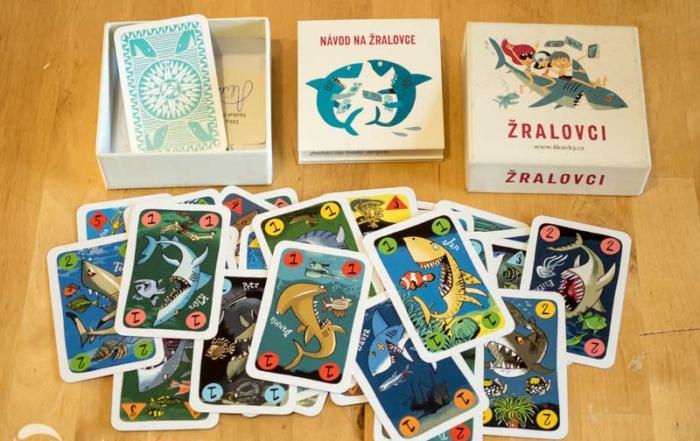Hra pro děti Žralovci