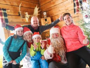 S dětmi za Santou do Finska