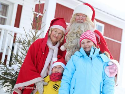 Do Finska s dětmi za Santou