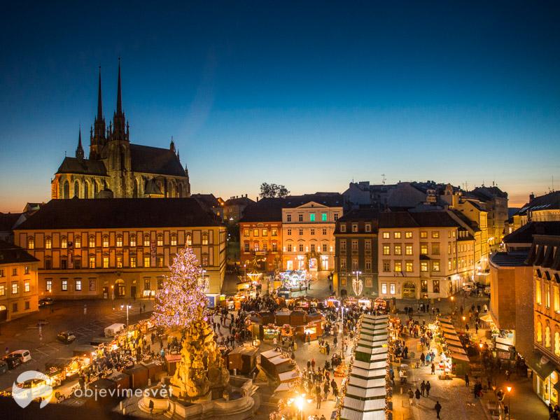Vánoce v Brně s dětmi