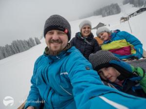 Vorarlbersko s dětmi bez lyží