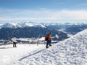 Innsbruck Nordkette s dětmi