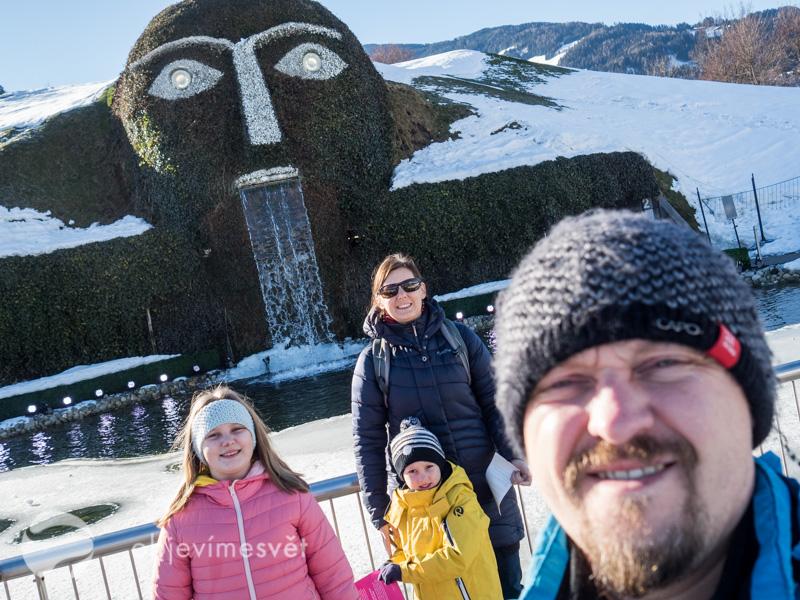 Innsbruck Swarovski s dětmi