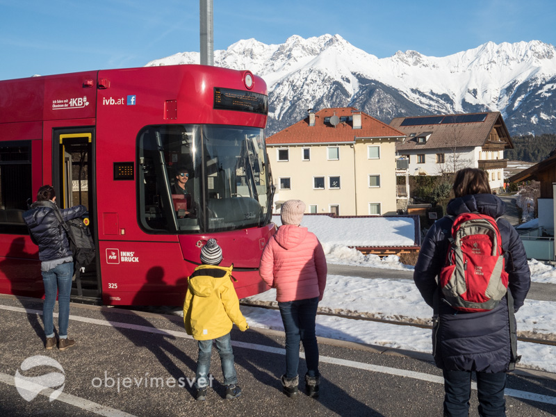Innsbruck s dětmi